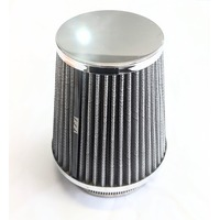 "MRC TFI Racing 2310C Chrome Mini Power Stack Filter 3"" (76mm) Washable"