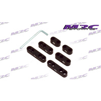 MRC TFI Racing 4631 6PC Black Spark Plug ignition Leads Wire Separator Turbo Custom V8 Hot Rod