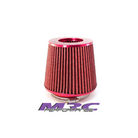 "MRC TFI Racing 69-002 Red Multi Fit Pod Air Filter 3"" 3.5"" 4"" Turbo JDM Nissan 4x4"