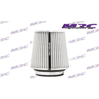 "Universal HPR White Multi Fit Pod Filter Turbo 3"" 3.5"" 4"" Washable V8 Intake"