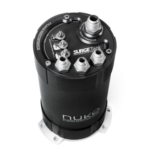 Nuke Performance 2G Fuel Surge Tank 3l for two internal DW400 fuel pumps